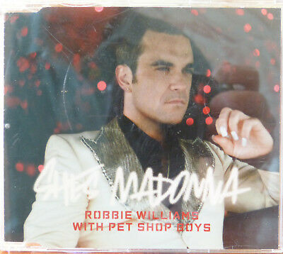 Maxi CD, Robbie Williams and the Pet Shop, Madonna, Sehr guter Zustand