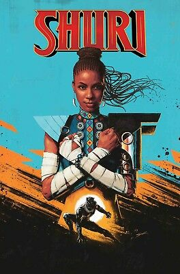 Shuri #1 *new Black Panther Marvel Comic*okorafor Preorder Movie Spratt Cover Nm