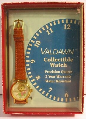 Valdawn Collectible Watch - Angel with Pink Flowers - New in Original Box