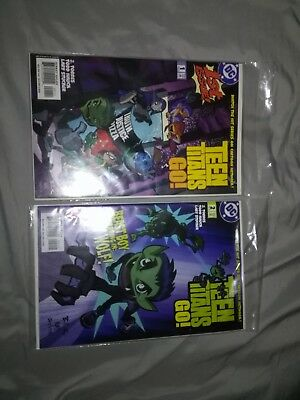 TEEN TITANS GO! #1,and #2  Great shape (2004) DC Comics