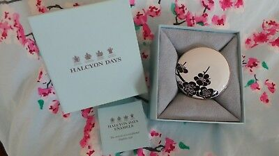 Halcyon Days ~ 'Japanese Style Mirror' ~ Boxed