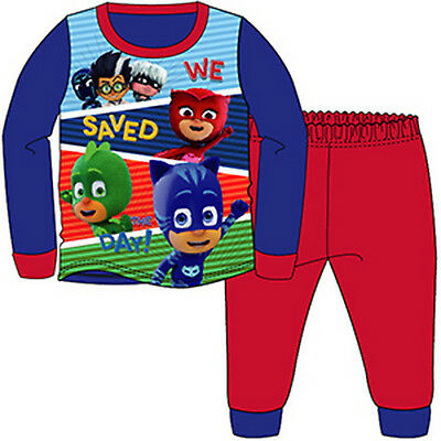 Boys pyjamas, long pjs, character nightwear 18mths - 5yrs PJ MASKS