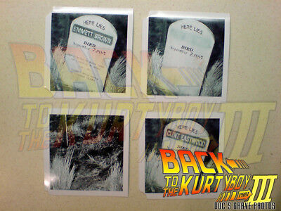 Back To The Future 3 Doc's Grave Photos Prop Replicas