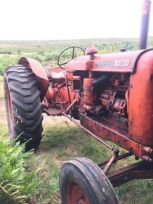 Nuffield 4 60 tractor