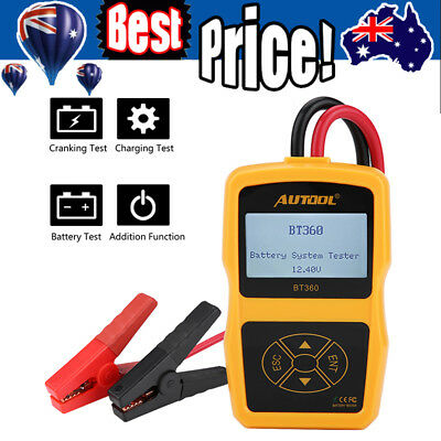 New BT-360 DC 12V Vehicle Battery System Tester Car Charging Test Analyzer