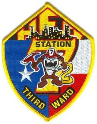 HOUSTON TEXAS FIRE DEPARTMENT STATION 32 COMPANY PATCH TAZ