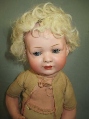 Antique German Bisque Character Baby Doll Bahr Proschild #585 Open/Closed Mouth
