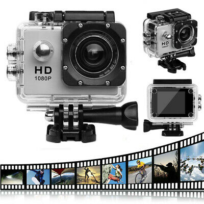 A1 SJ Dual Screen Full HD Sports Action Camera Waterproof Diving DVR Camcorder