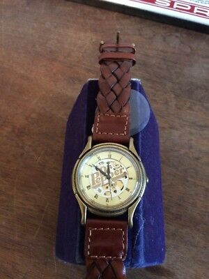 Authentic FOSSIL Service award man's wrist watch  DR. PEPPER 2C-00319 1550/3000