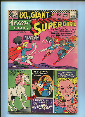 Action Comics #347 (4.5) 80 Page Giant Supergirl - 1967