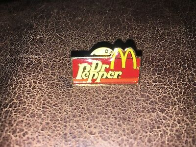 Vintage Dr Pepper McDonald Lapel Pin