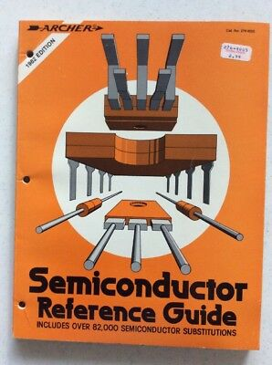 1982 Archer Radio Shack Semiconductor Replacement Guide