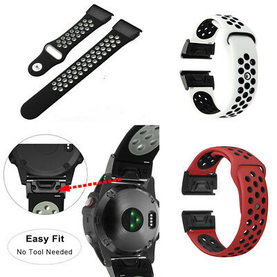 Fashion Silicone Watch Strap Quick Release Wristband For Garmin Fenix 5X/Fenix 3
