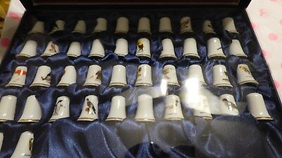 M&M Watch Company Thimble Case Feathered Fantasy bird set 9265-003