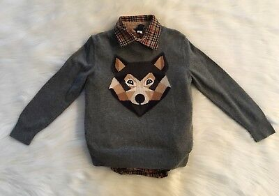 Gap Size 5T Wolf Sweater Set