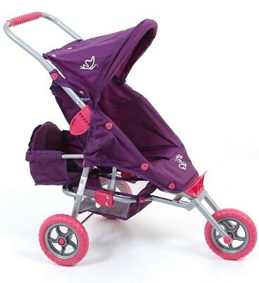 Valco Baby Just Like Mum Mini Marathon Dolls Stroller With Toddler Seat - Butter