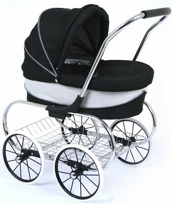 Valco Baby Just Like Mum Princess Dolls Stroller - Raven