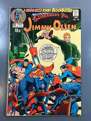 Superman's Pal Jimmy Olsen No. #135 DC 1971 Second 2nd Appearance Darkseid