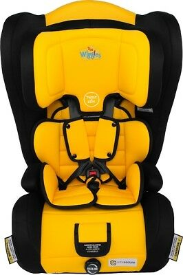 Infa Secure Emerge Harnessed Booster Seat - Wiggles Yellow