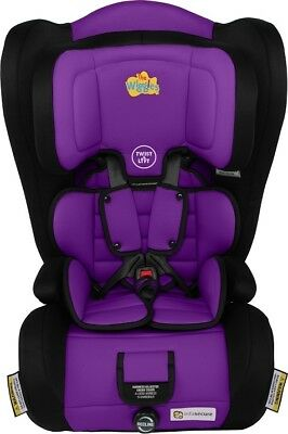 Infa Secure Emerge Harnessed Booster Seat - Wiggles Purple