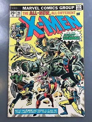 The Uncanny X-Men No. #96  Bronze Age 1st First Appearance Moira McTaggert *KEY