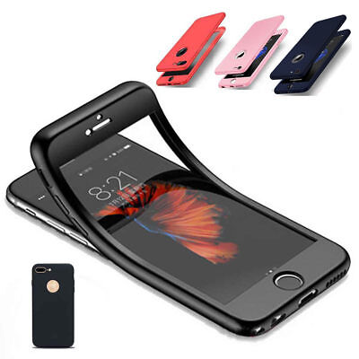 Samsung iPhone Coque Housse Ultra Mince en TPU 2 en 1 360 °Protection Absorption