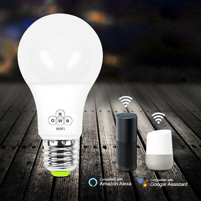Wifi Smart Color LED Light Bulb for Amazon Alexa/Google Home App Control LD1457