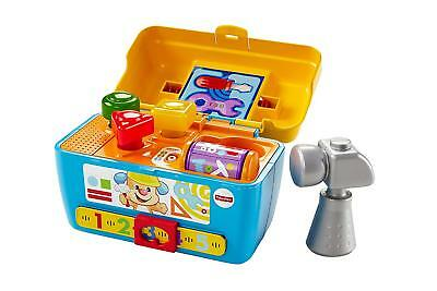 Fisher-Price Toy Baby Laugh and Learn Smart Stages Toolbox Boys Free Shipping !!