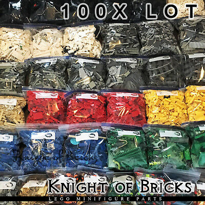 LEGO 100x Lot Pieces from Huge Random Bulk Pick Your Color Free Shipping