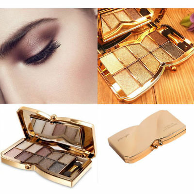 10 Colors Diamond Shimmer Eyeshadow Eye Shadow Palette Makeup Cosmetic Brush