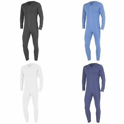 FLOSO Mens Thermal Underwear All In One Union Suit (THERM45)
