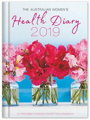 2019 The Australian Women's Health Diary AWW Journal A5 Week to View