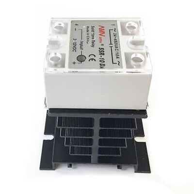 SSR-25 DA 25A 3-32V DC / 24-380V AC Solid State Relay and Heat Sink E8M1