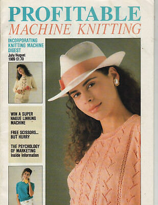 Profitable Machine Knitting Magazine 1989 Patterns Articles etc