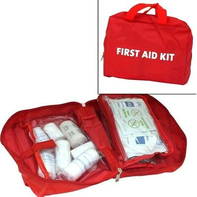 70 Piece 1St First Aid Kit Home Travel Car Motorist Work Camping Emergency