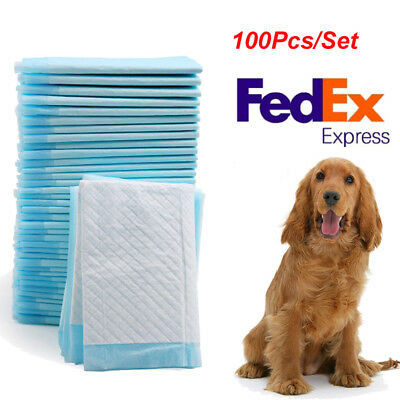 """13x18"""" 100Pcs Cheap Puppy House Breaking, Training, Pee Pads/Underpads WHOLESALE"""