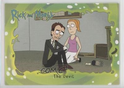 2018 Cryptozoic Rick and Morty Season 1 #35 The Devil Non-Sports Card z7j