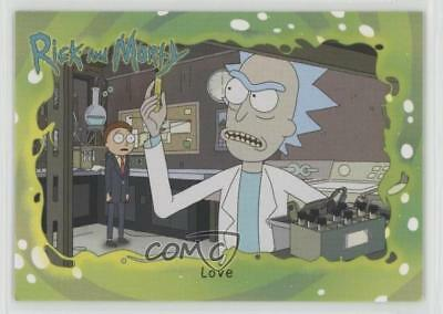 2018 Cryptozoic Rick and Morty Season 1 #23 Love Non-Sports Card z7j