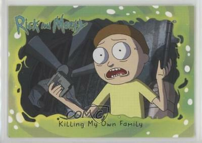 2018 Cryptozoic Rick and Morty Season 1 #18 Killing My Own Family Card z7j