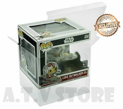 Vinyl Box Case Protector For Poe Dameron / Luke Skywalker with X-wing + Cloth