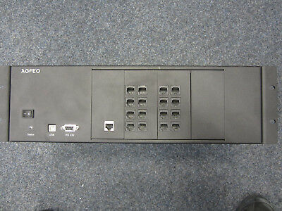 Agfeo AS 44 IT ISDN-Telefonanlage mit 3 Modulen