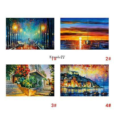 Frameless Huge Wall Art Oil Painting On Canvas Beatiful scenery Home Decor 07