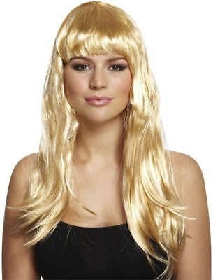 Long Blonde Wig - Hair Costume Party Cosplay Fancy Dress Pop Ladies