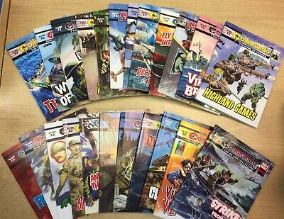 Job Lot Commando Comics Books x 71