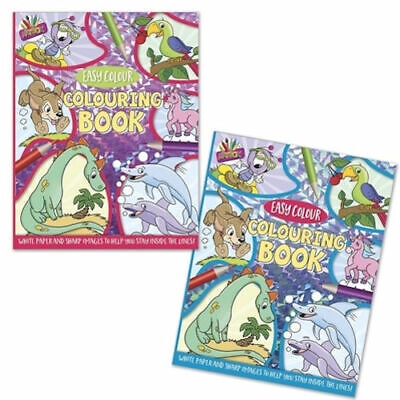 Superior Colouring Book 80 GSM - A4 Kids Adult Travel Journey Activity Draw