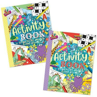 Superior Activity Book 80 GSM - Games Journey Children Kids Draw Wordsearch Fun