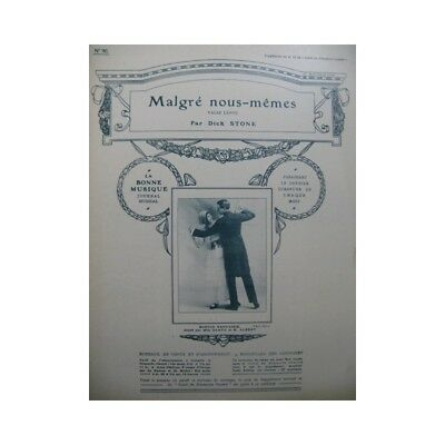STONE Dick Malgré nous,mêmes Piano partition sheet music score