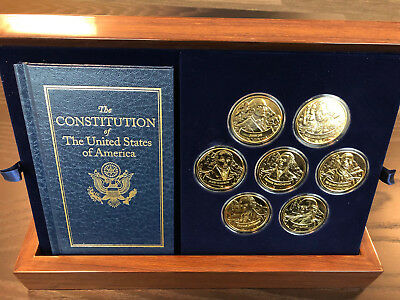 The Founding Fathers of America Coin Collection - Franklin Mint