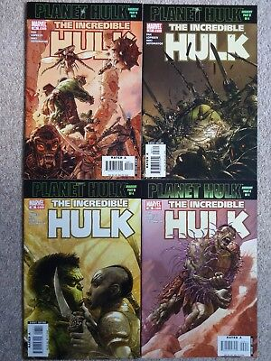 INCREDIBLE HULK - Issues 96 to 99 PLANET HULK 2006 (Near Mint)