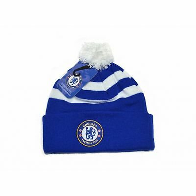 b9a99ce1b36 CHELSEA CUFF KNITTED Hat - Royal - Official Beanie Football Fc Hats ...
